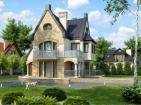 Комфортный двухэтажный жилой дом
